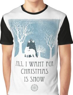 All I Want For Christmas Is Snow Game Shirt Graphic T-Shirt