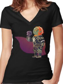 Chibi Ganondorf Vector Women's Fitted V-Neck T-Shirt