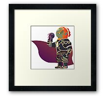 Chibi Ganondorf Vector Framed Print