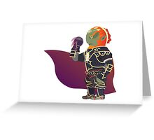 Chibi Ganondorf Vector Greeting Card