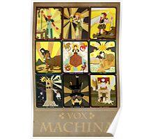 Vox Machina Tarot Card Compilation Poster