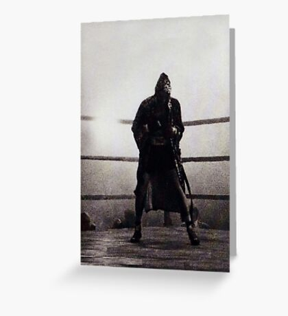 Bronx Bull I Greeting Card