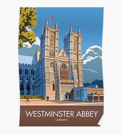 Westminster Abbey, London Poster