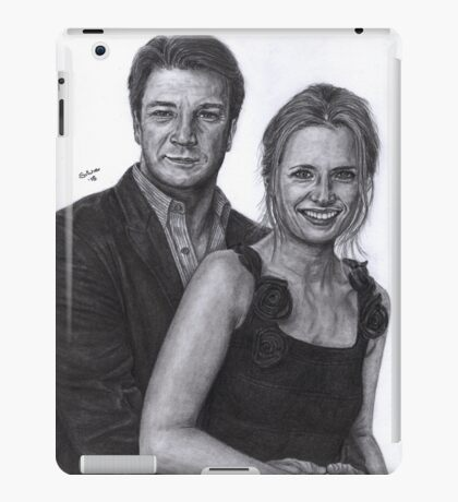Mr and Mrs Castle iPad Case/Skin