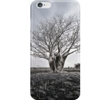 Silver Boab iPhone Case/Skin