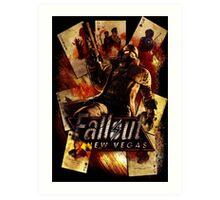 Fallout New Vegas Art Print