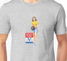 Pin up WW2 Bowlers Victory Legion  Unisex T-Shirt