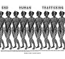 End Human Trafficking Poster Photographic Print
