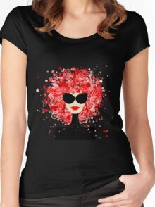 Fashion Girl Women's Fitted Scoop T-Shirt