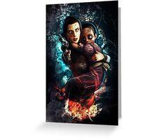 Burial at Sea (Bioshock Infinite) Greeting Card