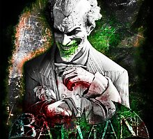 Batman Arkham City Joker by sazzed