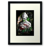 Batman Arkham City Joker Framed Print