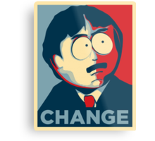 Randy Marsh Change Metal Print