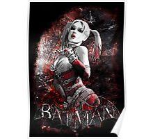 Batman Arkham City Harleyquinn Poster