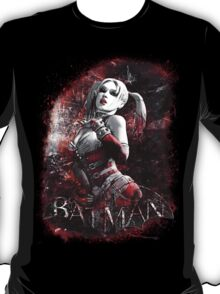 Batman Arkham City Harleyquinn T-Shirt