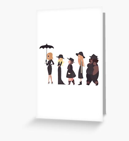 American Horror Story - Coven  Greeting Card