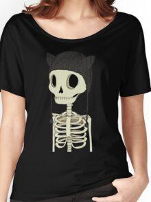 Skeleton Kitty Women's Relaxed Fit T-Shirt