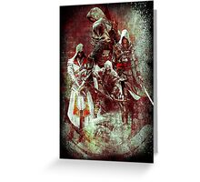 Assassins Creed Greeting Card