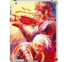 Solid and Raiden iPad Case/Skin
