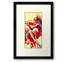 Solid and Raiden Framed Print