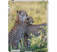 Cheetah Mother and Son iPad Case/Skin