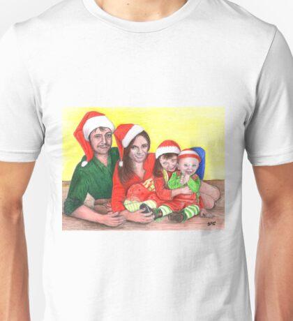 Caskett family at Christmas Unisex T-Shirt