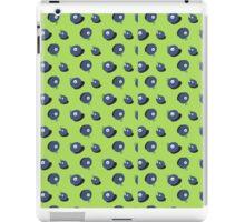Cute Blueberrys with eyes iPad Case/Skin