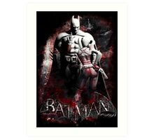 Batman & Harley Quinn Arkham City Art Print