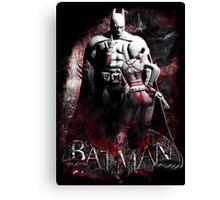 Batman & Harley Quinn Arkham City Canvas Print