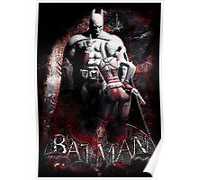 Batman & Harley Quinn Arkham City Poster