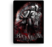 Batman & Catwoman Arkham City Canvas Print