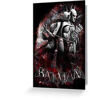 Batman & Catwoman Arkham City Greeting Card