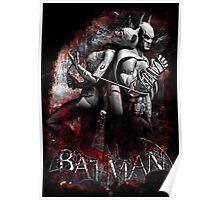 Batman & Catwoman Arkham City Poster
