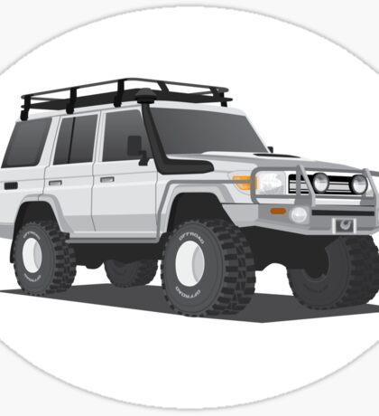 LandCruiser Wagon Sticker