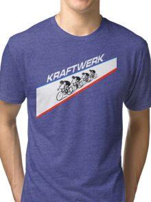KRAFTWERK - TOUR DE FRANCE Tri-blend T-Shirt