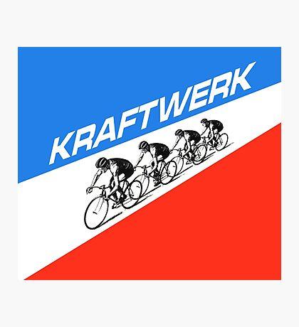 KRAFTWERK - TOUR DE FRANCE Photographic Print