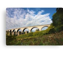 College Wood Viaduct Penryn Canvas Print