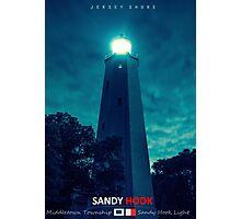 Sandy Hook Light. Photographic Print