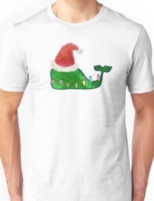 Preppy Christmas Whale Unisex T-Shirt