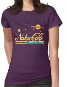 Nukacola Quantum Modern Redesign Womens Fitted T-Shirt