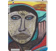 intergalactic warrior in travel process iPad Case/Skin