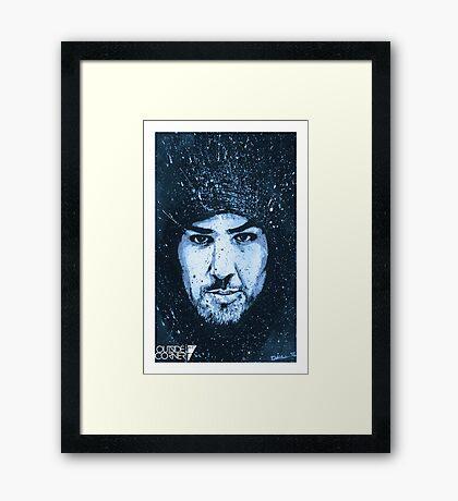"""Brendan Schaub"" Framed Print"