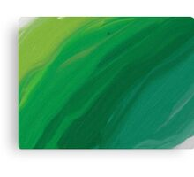 Green Pastel Canvas Print