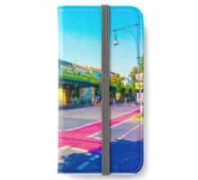 Colorful City Junction  iPhone Wallet/Case/Skin
