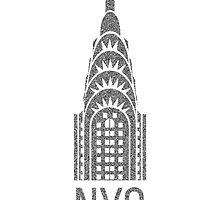 NYC Chrysler Building  by Edward Fielding