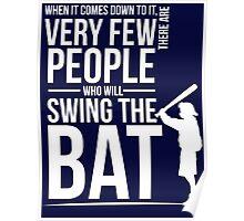 Take a Swing Poster