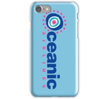 OCEANIC AIRLINES - FLIGHT 185 - LOST iPhone Case/Skin