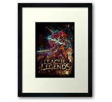 LoL Katarina Framed Print
