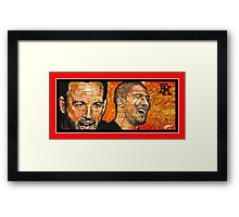 """The Fighter and The Kid""  Framed Print"