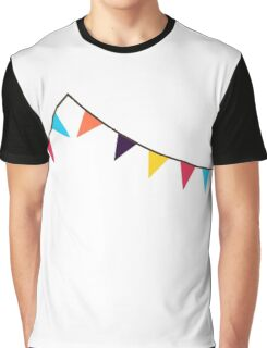 Bunting, Flags, Party, Celebration Graphic T-Shirt